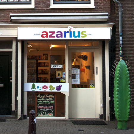 The Azarius Smart Shop in Amsterdam