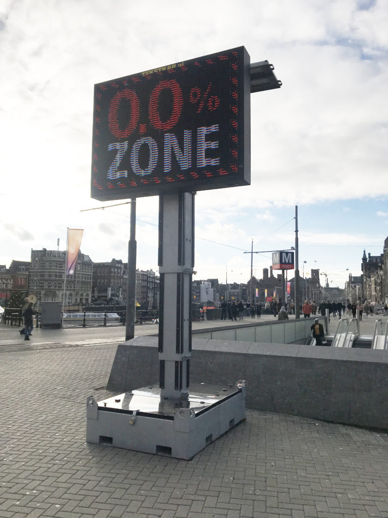 no alcohol zone in amsterdam