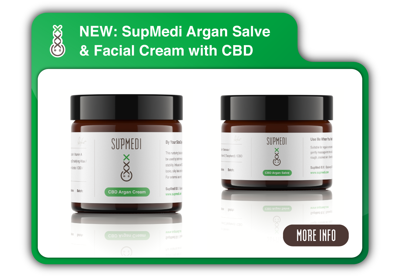 cvd cream / salve pop-up