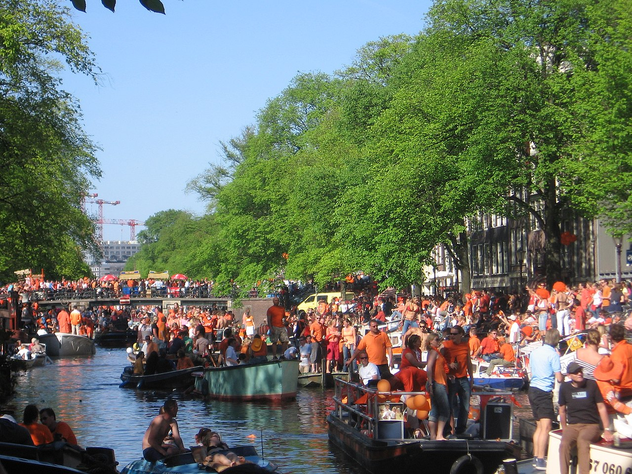 koningsdag amsterdam kingsday