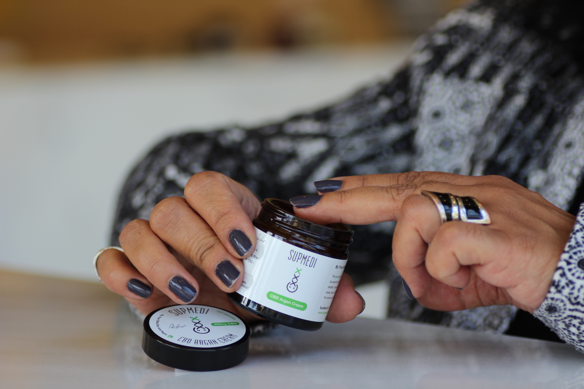 cbd cream and salve to battle skin problems