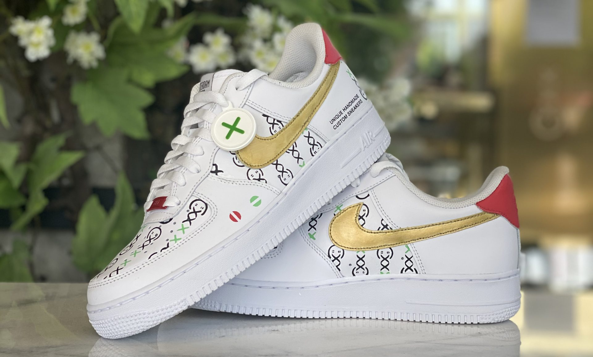 lil custom sneakers amsterdam genetics