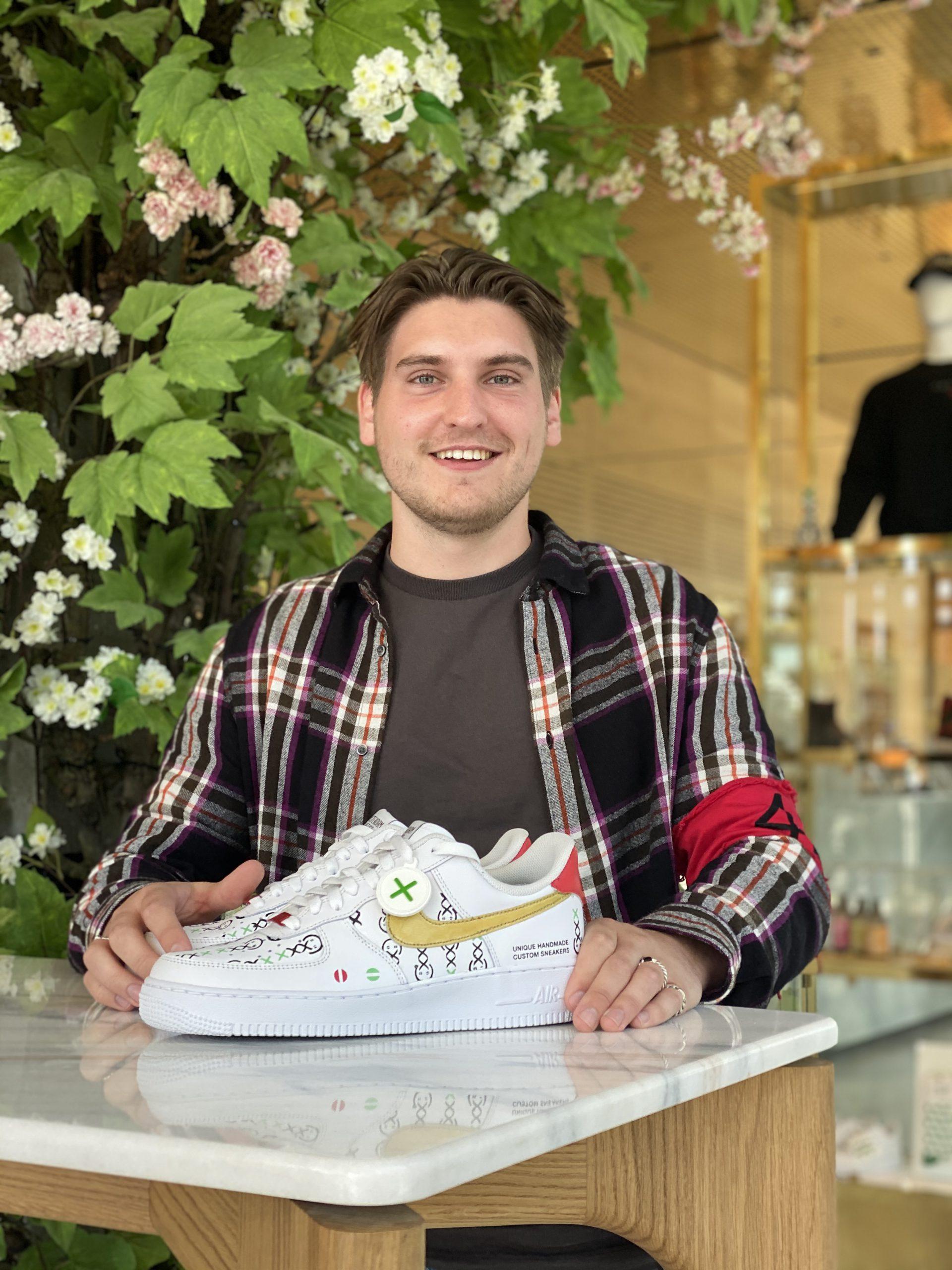 Lil custom sneakers